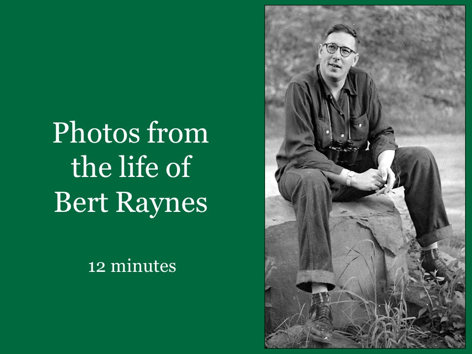 Pictures from the life of Bert Raynes set to music